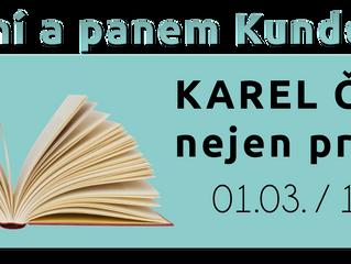 Čtení s panem Kunderou