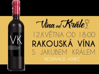 Vína od Krále 12.5.2018