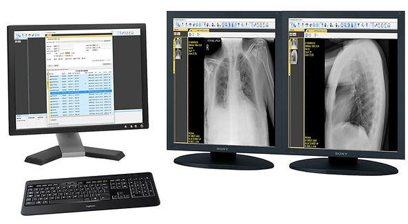 Diagnostic online DICOM image viewer
