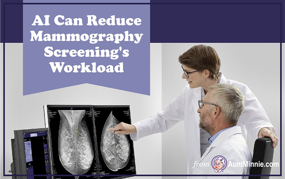 AI Can Reduce Mammography Screening's Workload