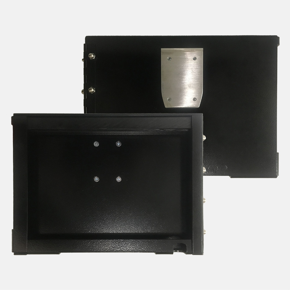 Tablet Enclosure Front and Back