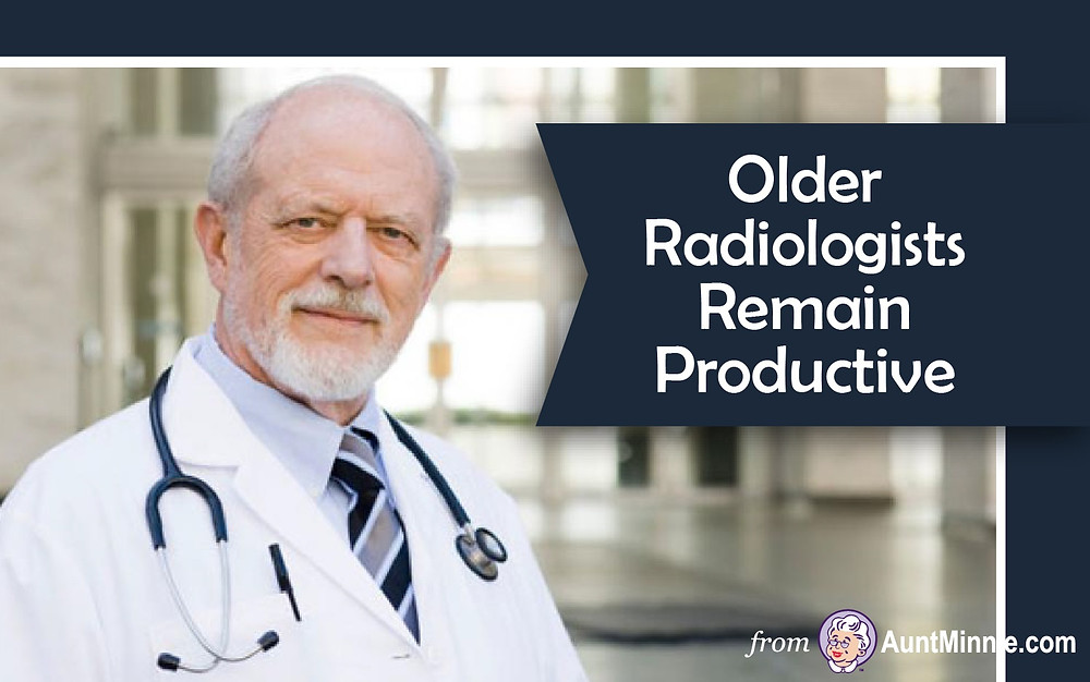Older Radiologists Remain Productive
