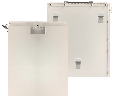 DR Panel Box WITH HOOKS for Outside Mount on SR-130 Portables