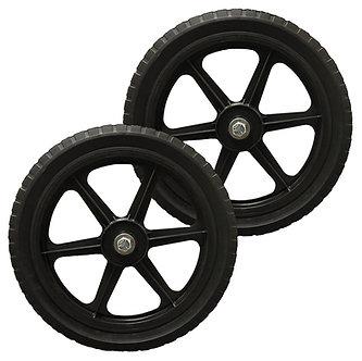 """14"""" No-Flat Tires (1 Set)"""