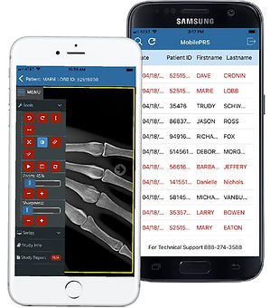 Physician Review Sevice is a web-based physician portal that features a Mobile PRS app for uploading docs