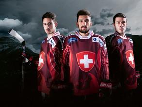 Die Schweizer A-Nati in Visp