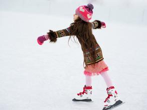 Freies Eislaufen in der Lonza Arena: Eintritt für Nachwuchsspieler