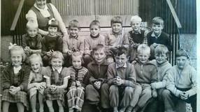 Första klass 1954