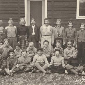 Hedevikens skola 1952