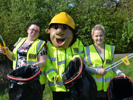 ZEST receives £2535 of funding to buy new litter picking equipment