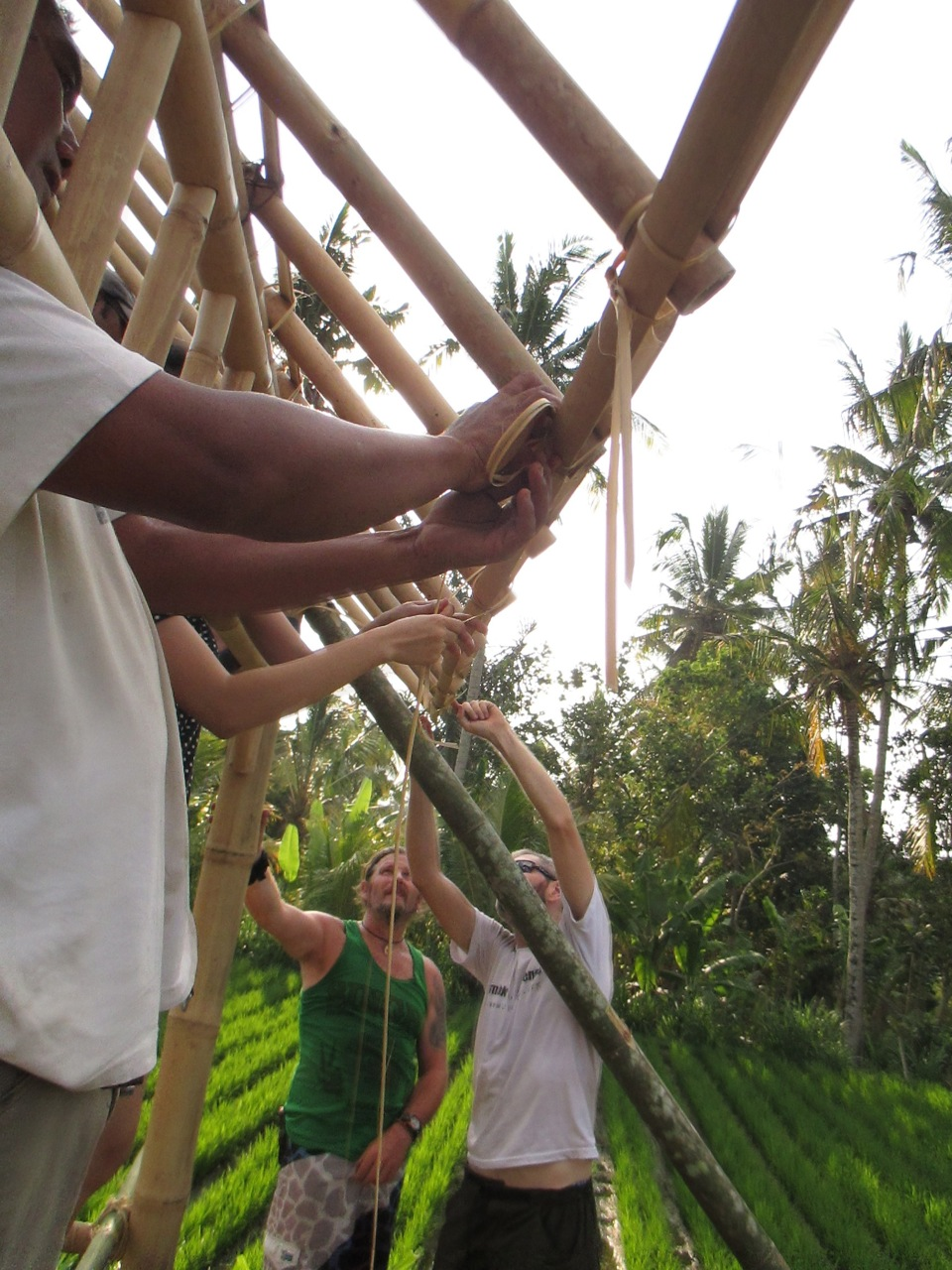 Ties are made from bamboo fibers