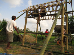 Constructing a roof