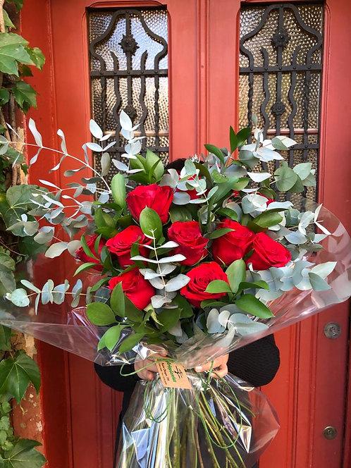 Buquê com rosas importadas