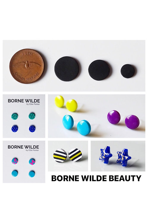 Mini Clay Earrings Wholesale