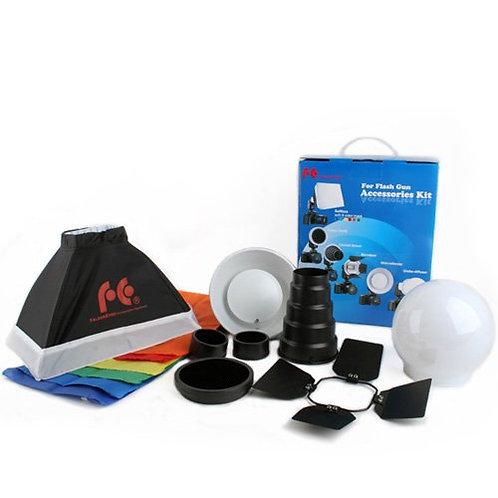 Kit Falcon Eyes FGA-K7 Accesorios P/Speedlite