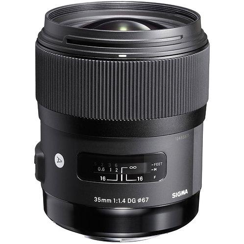 35mm F1.4 Art P/Nikon