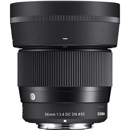 56mm F1.4 Contemporary DC DN P/Sony E