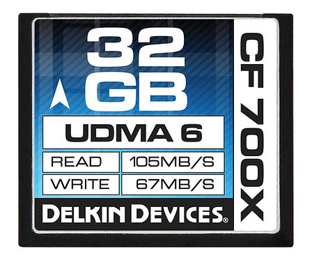 Memoria Delkin CF 32GB 700x UDMA 6