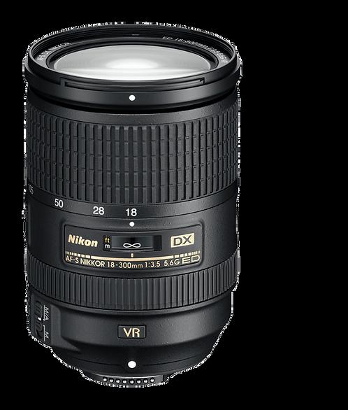 AF-S DX 18-300mm F3.5-5.6 G ED VR