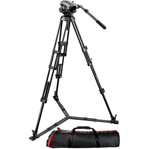 Tripie Manfrotto 546GBK+504HD