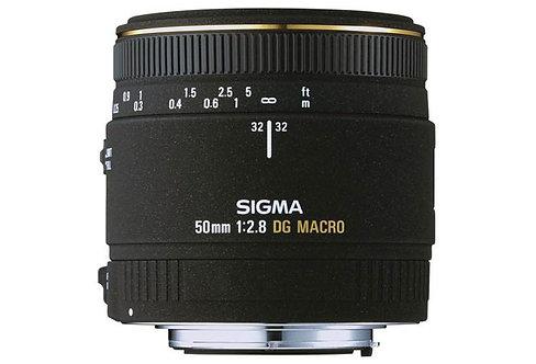 50mm F 2.8 Macro Ex Dg P/Canon