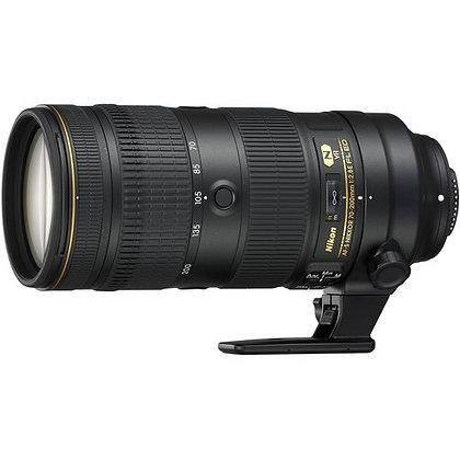 AF-S  70-200mm F 2.8E FL  ED VR