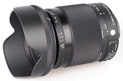 18-300mm F 3.5-6.3 Contemporary  Os Dc Hsm Macro P/Canon