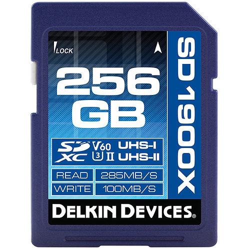 Memoria Delkin SDXC 256GB 1900x UHS-1