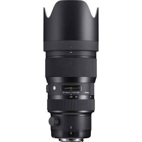 50-100mm F 1.8 Art Dc Hsm P/Nikon