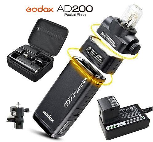 Witstro AD200 + Aletas Speedlight de Godox