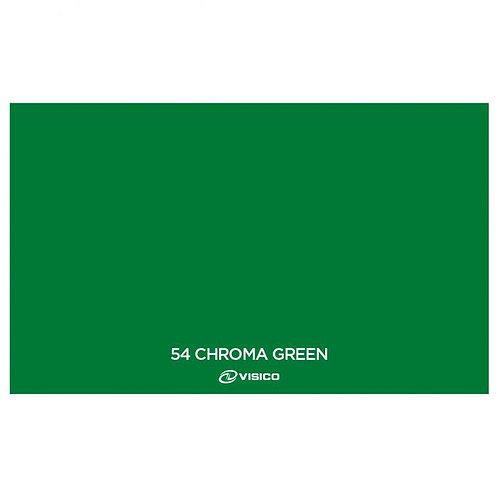 Fondo de Papel Visico  Verde Chroma   2.72x10mts