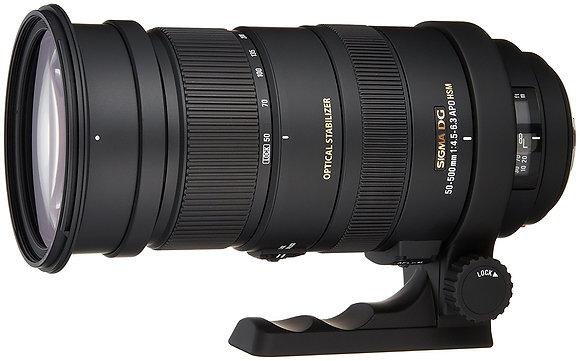 50-500mm F 4.5 6.3  Os Hsm Apo P/Sigma