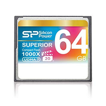 Memoria Silicon CF 64GB 1000x UDMA