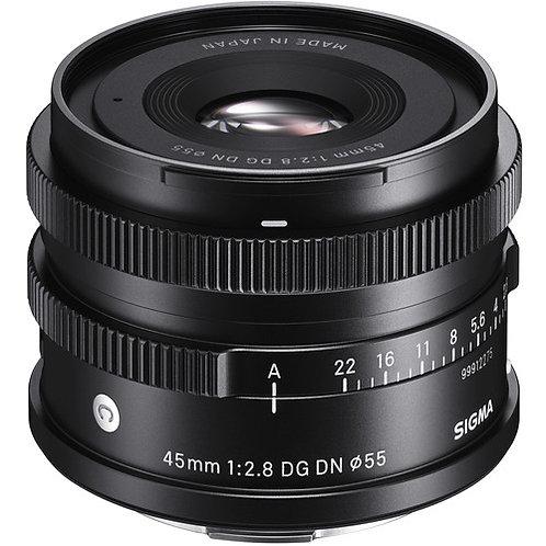 45mm 2.8  Contemporary DG DN P/Sony E
