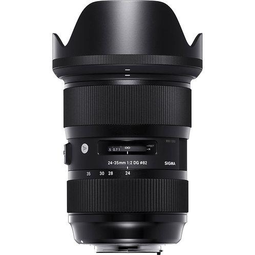 24-35mm  F 2 Art P/Nikon
