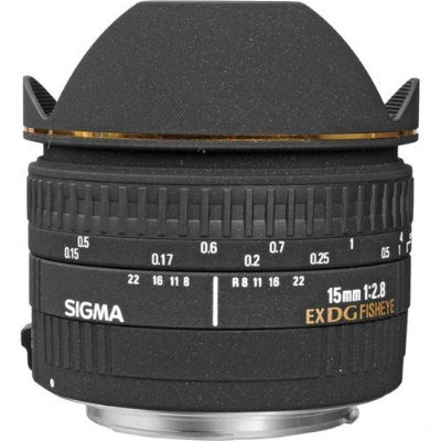 15mm F2.8 EX DG Diagonal Ojo de Pez P/Canon