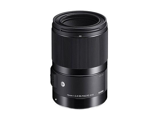 70mm F2.8 Macro DG Art P/Sigma