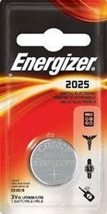 Batería Energizer CR2025 3v