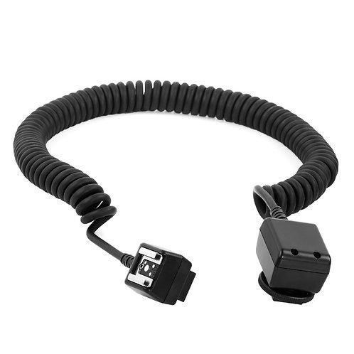 Cable Sincronizador Micnova P/ Flash TTL MQ-28 P/Nikon