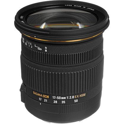 17-50mm F 2.8 Ex Dc Hsm Os P/Canon