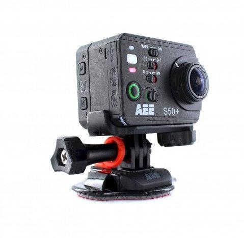 Videocámara AEE S50 + Full HD+ 2 Display+ 2 Cargadores