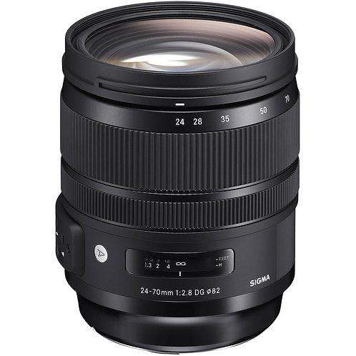 24-70mm  F 2.8 Art P/Canon