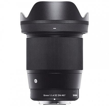 16mm F1.4 Contemporary DC DN P/Canon Ef-E