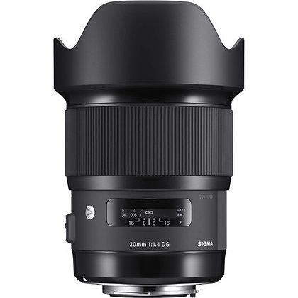 20mm F1.4 Art P/Canon