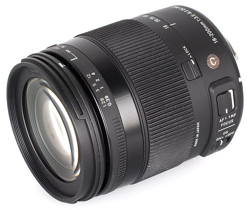 18-200mm F 3.5-6.3 Contemporary  Os Dc Hsm P/Canon