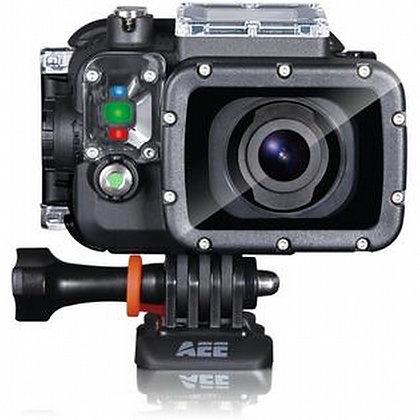 Videocámara Aee S71 Wi-Fi 4k+Chupón+Batería+Montura bici
