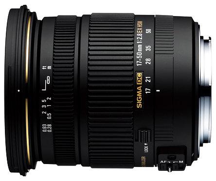 17-50mm F 2.8 Ex Dc Hsm Os P/Sony