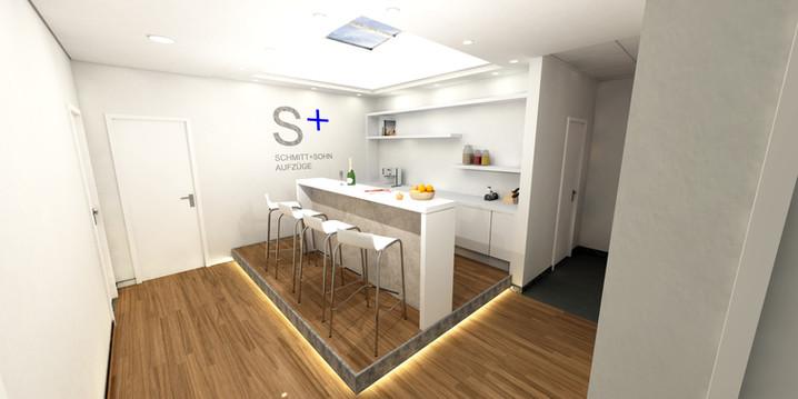Büro-Lounge