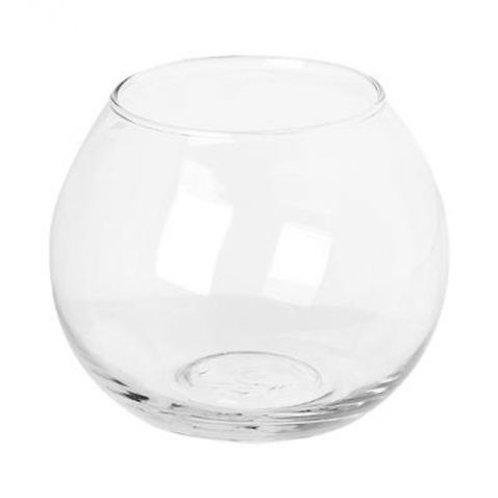 Photophore en verre Rond 10cm