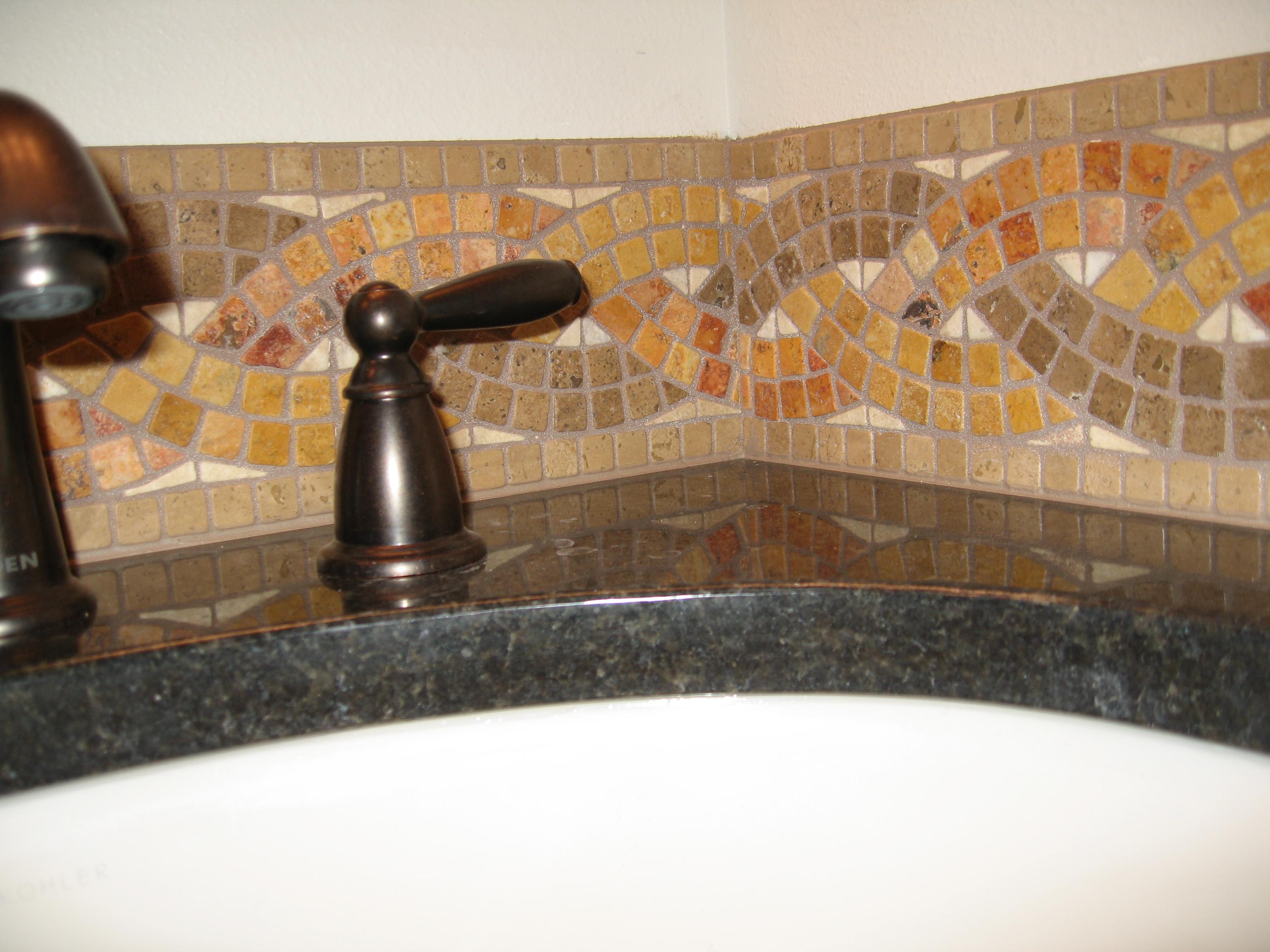 Custom tile mosaic